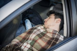 Winter driving tips - Keep a blanket in the car with you