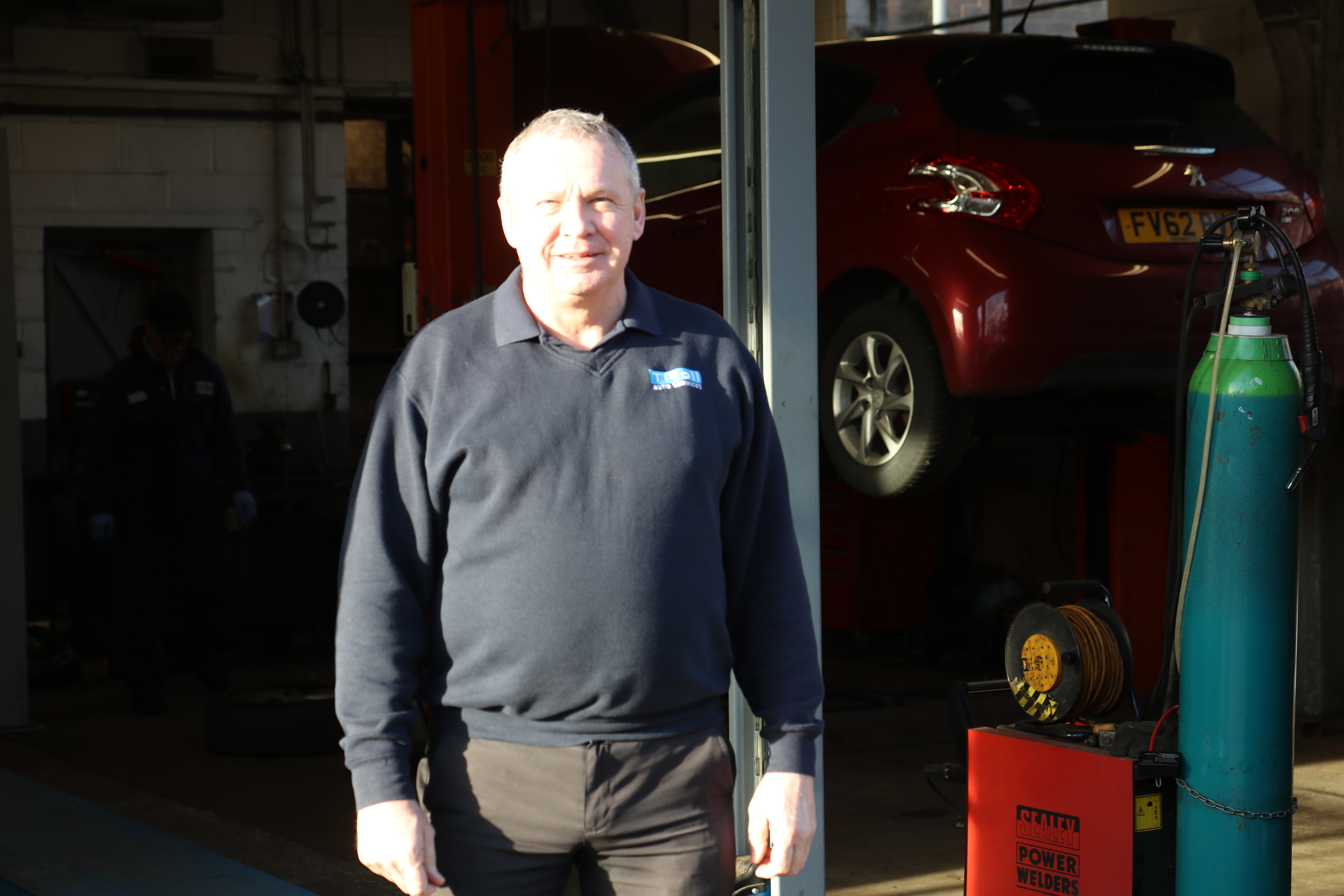 Paul White at Tivoli Auto Services