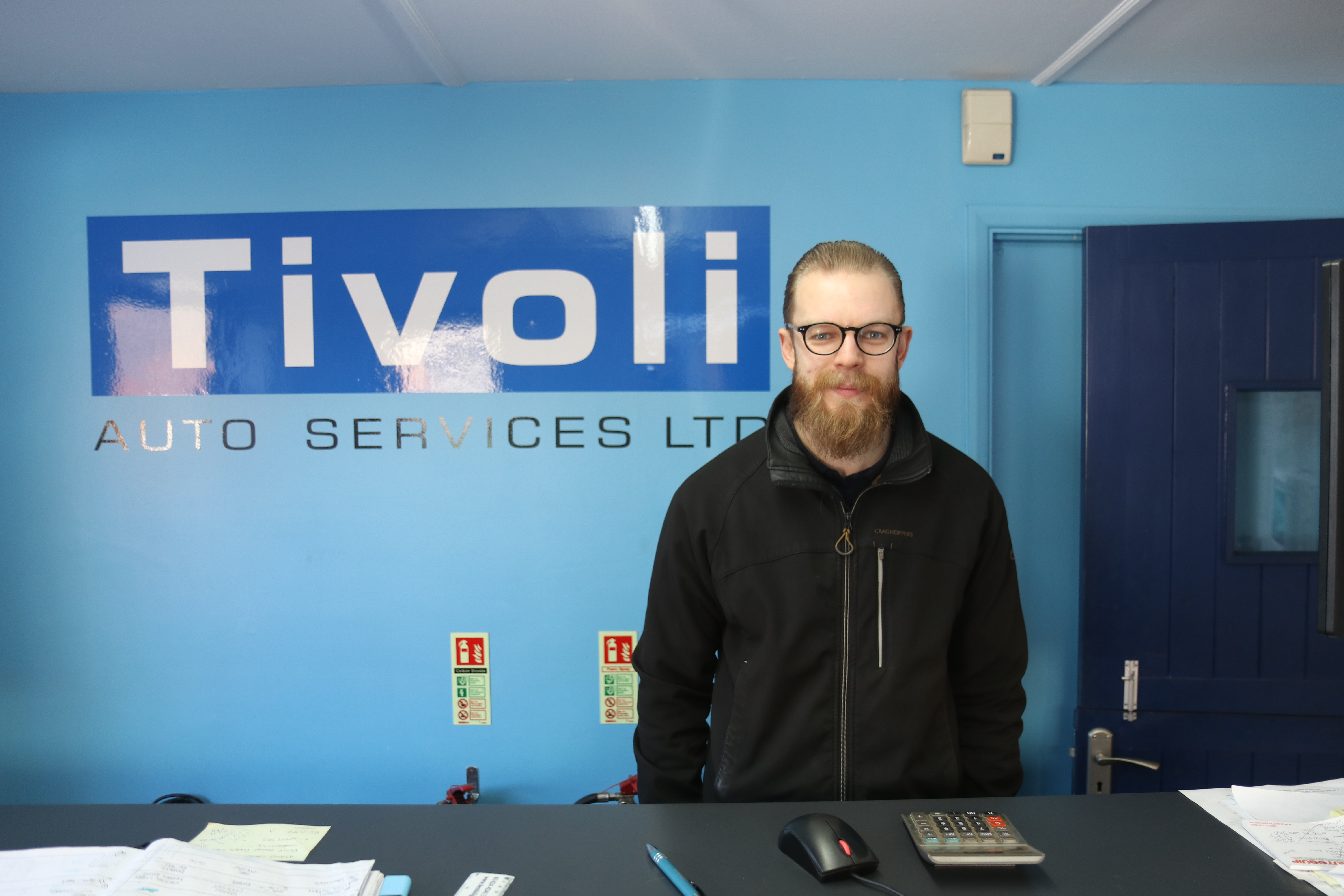 Mike West at Tivoli Auto Services